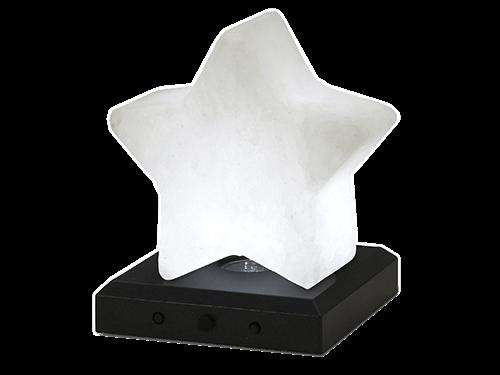 Stjerne i saltkrystal