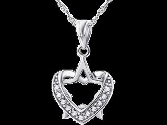 Sølvhalskæde