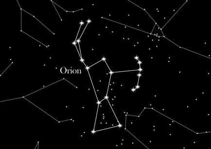 Konstellation Orion