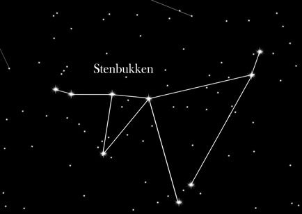 Konstellation Stenbukken