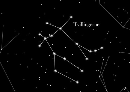 Konstellation Tvillingerne