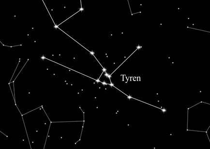 Konstellation Tyren