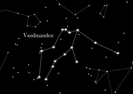 Konstellation Vandmanden