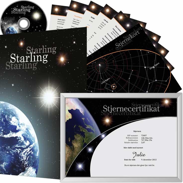 Køb en stjerne pakke